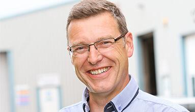 Managing Director John Hartley