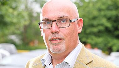 Financial Controller Martin Crowe
