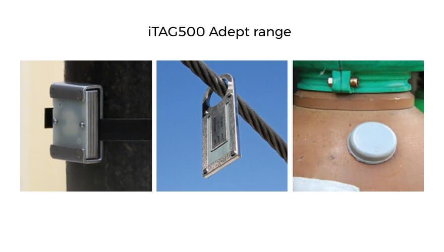 Extronics TAG500 passive RFID tags: Adept range