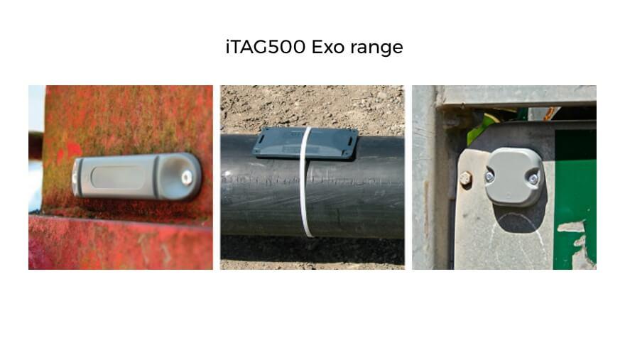 Extronics TAG500 passive RFID tags: Exo range