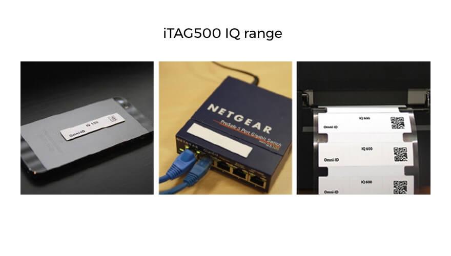 Extronics TAG500 passive RFID tags: IQ range