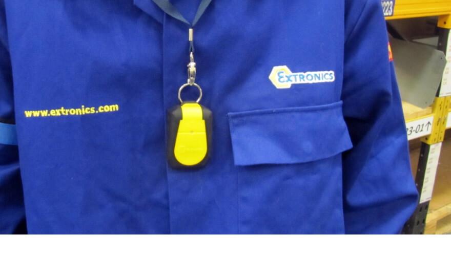 TGUARD tag protector on lanyard