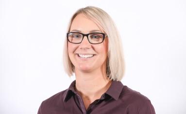 Rachel Saunders, member of Extronics' Strategic Leadership Team