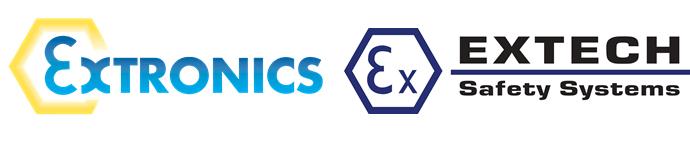 Extronics Extech logos