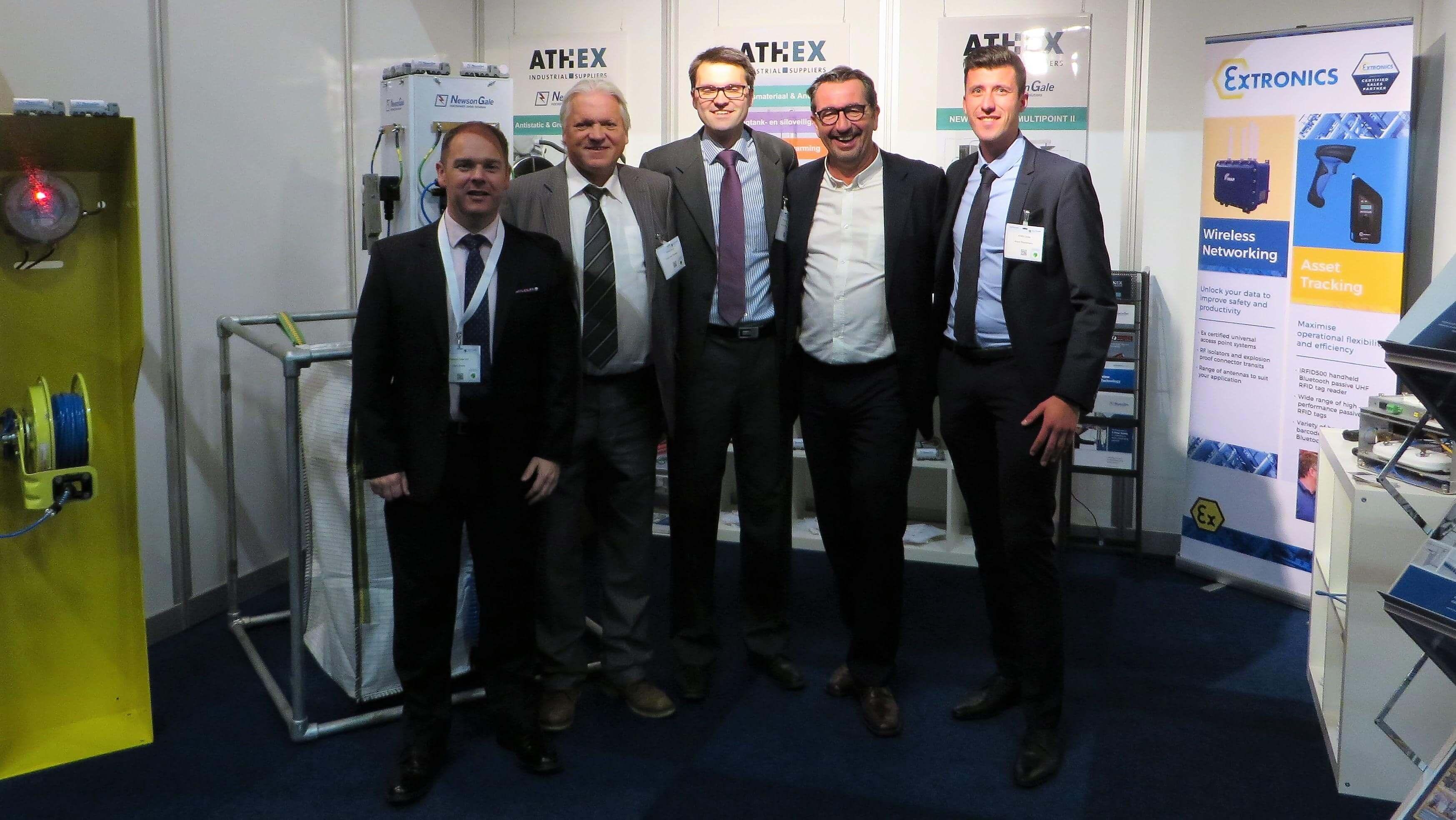 Bernd Neumann ATHEX Solids Rotterdam 2017