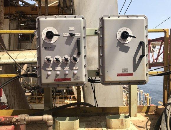 DC isolator in Ex enclosure